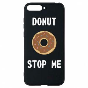 Etui na Huawei Y6 2018 Donut stop me