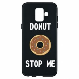 Etui na Samsung A6 2018 Donut stop me