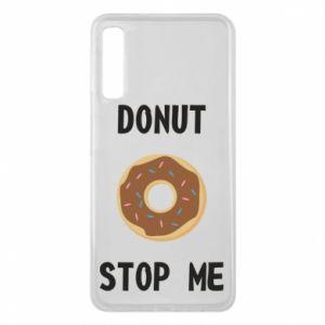 Etui na Samsung A7 2018 Donut stop me