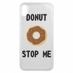 Etui na iPhone Xs Max Donut stop me