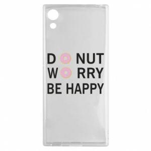 Etui na Sony Xperia XA1 Donut worry be happy