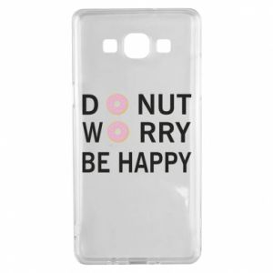 Samsung A5 2015 Case Donut worry be happy