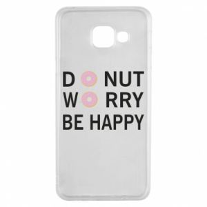 Samsung A3 2016 Case Donut worry be happy