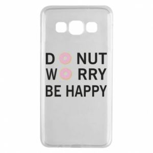 Samsung A3 2015 Case Donut worry be happy