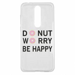Etui na Nokia 5.1 Plus Donut worry be happy