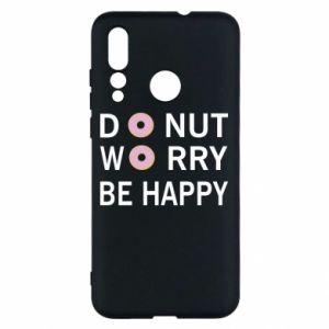Etui na Huawei Nova 4 Donut worry be happy
