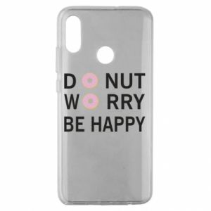 Huawei Honor 10 Lite Case Donut worry be happy