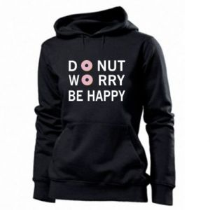 Damska bluza Donut worry be happy