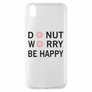 Huawei Y5 2019 Case Donut worry be happy