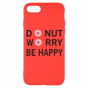 iPhone SE 2020 Case Donut worry be happy