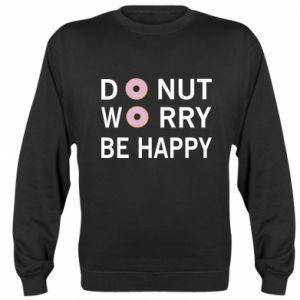 Bluza (raglan) Donut worry be happy