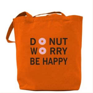 Torba Donut worry be happy