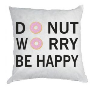 Poduszka Donut worry be happy