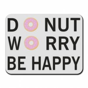 Podkładka pod mysz Donut worry be happy