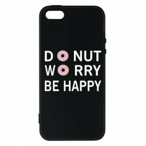 Etui na iPhone 5/5S/SE Donut worry be happy