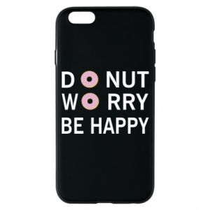 Etui na iPhone 6/6S Donut worry be happy