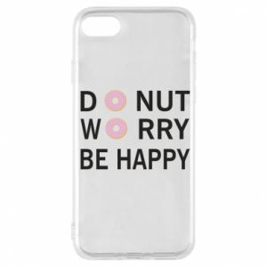 Etui na iPhone 7 Donut worry be happy