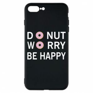 Etui na iPhone 8 Plus Donut worry be happy