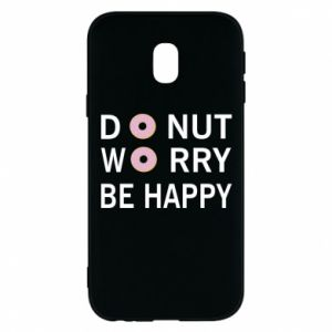 Etui na Samsung J3 2017 Donut worry be happy