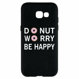 Etui na Samsung A5 2017 Donut worry be happy