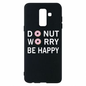 Etui na Samsung A6+ 2018 Donut worry be happy
