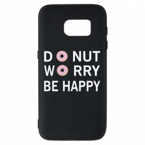 Etui na Samsung S7 Donut worry be happy