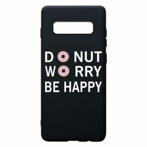 Etui na Samsung S10+ Donut worry be happy