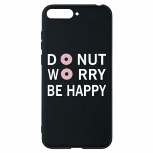 Etui na Huawei Y6 2018 Donut worry be happy