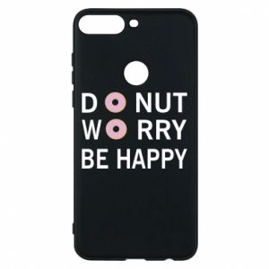 Etui na Huawei Y7 Prime 2018 Donut worry be happy
