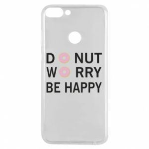 Etui na Huawei P Smart Donut worry be happy