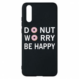 Etui na Huawei P20 Donut worry be happy