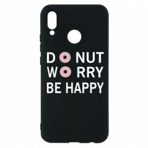 Etui na Huawei P20 Lite Donut worry be happy