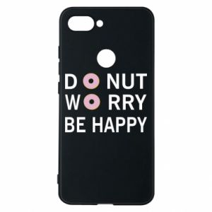 Etui na Xiaomi Mi8 Lite Donut worry be happy