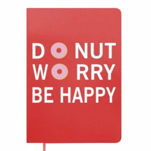 Notes Donut worry be happy