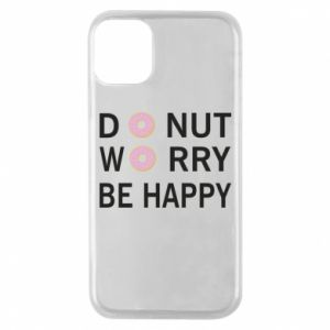 Etui na iPhone 11 Pro Donut worry be happy