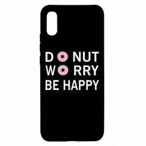 Etui na Xiaomi Redmi 9a Donut worry be happy