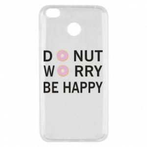Etui na Xiaomi Redmi 4X Donut worry be happy