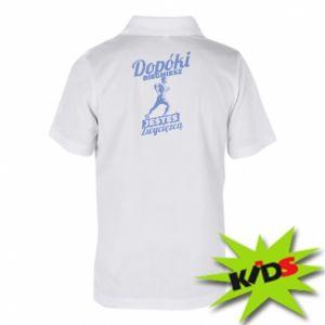 Koszulka polo dziecięca Dopóki biegniesz