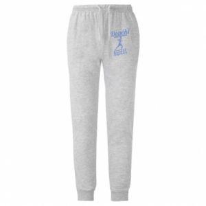 Męskie spodnie lekkie While you run