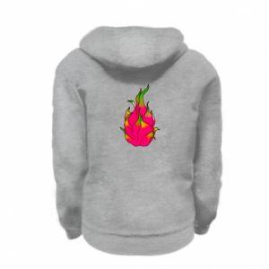 Bluza na zamek dziecięca Dragon fruit
