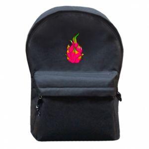 Plecak z przednią kieszenią Dragon fruit - PrintSalon