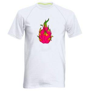 Męska koszulka sportowa Dragon fruit - PrintSalon