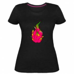 Damska premium koszulka Dragon fruit - PrintSalon