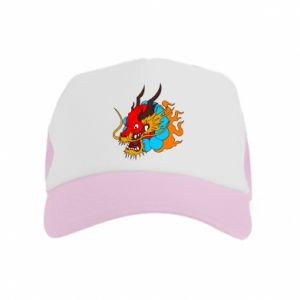 Kid's Trucker Hat Dragon