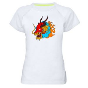 Women's sports t-shirt Dragon