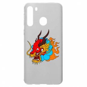 Samsung A21 Case Dragon