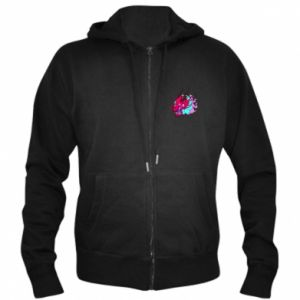 Men's zip up hoodie Dragon