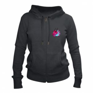 Women's zip up hoodies Dragon