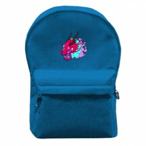 Backpack with front pocket Dragon