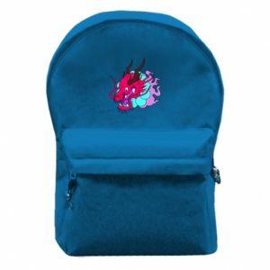Plecak z przednią kieszenią Dragon